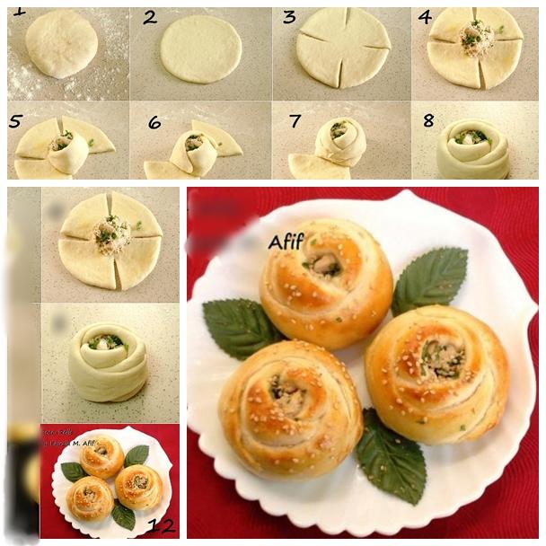 rose rolls F Wonderful DIY Delicious Rose Rolls