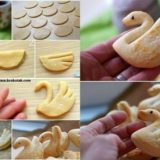 Wonderful DIY Swan Cookies