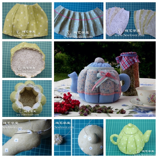 teapot F Wonderful DIY Sewing Teapot Storage