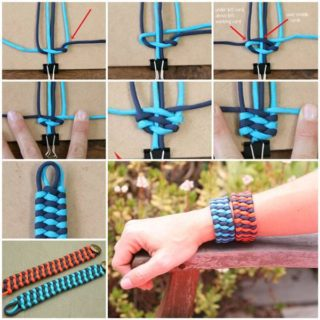 Wonderful DIY Unique Ribbon Bracelet