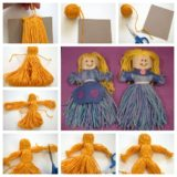 Wonderful DIY Cute Yarn Doll
