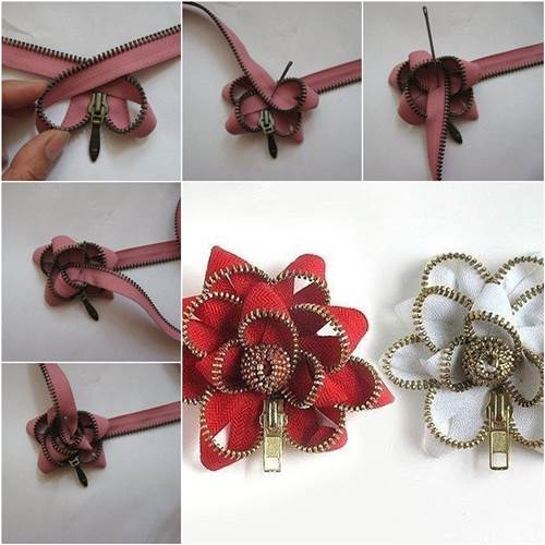 zipper flower 2