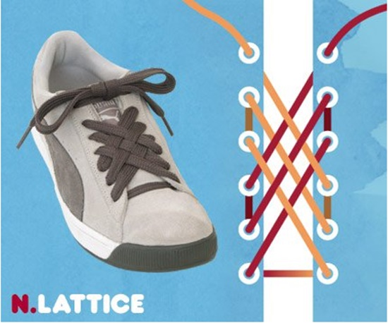 15 ways to tie your shoes1