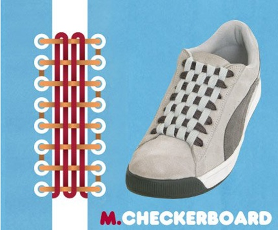 15 ways to tie your shoes10