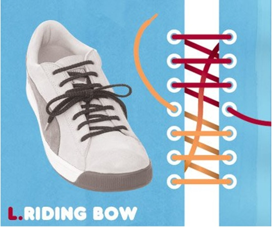 15 ways to tie your shoes11