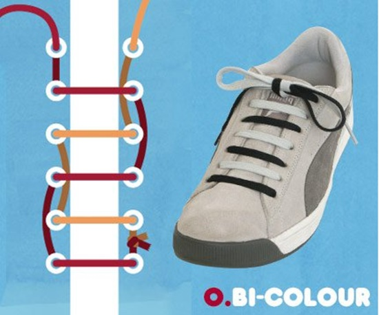 15 ways to tie your shoes13