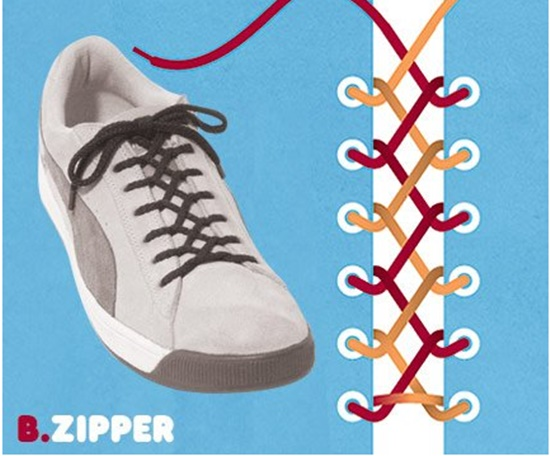 15 ways to tie your shoes14 15 Wonderful Ways To Tie Your Shoes