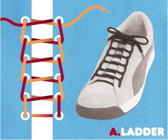 15 ways to tie your shoes2