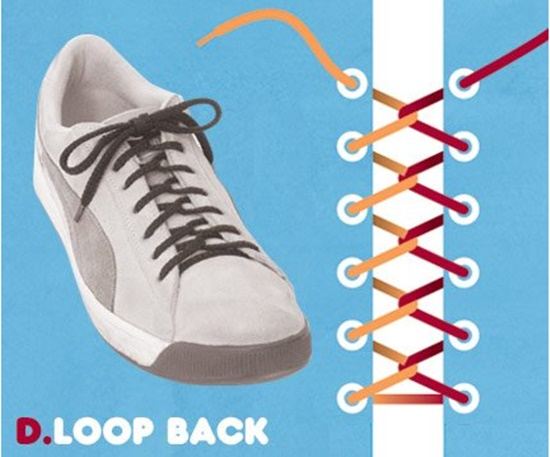 15 ways to tie your shoes5