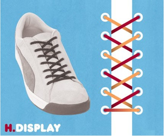 15 ways to tie your shoes8