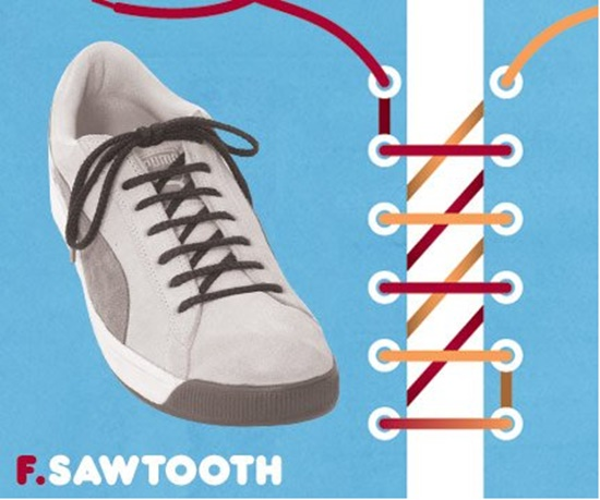 15 ways to tie your shoes9