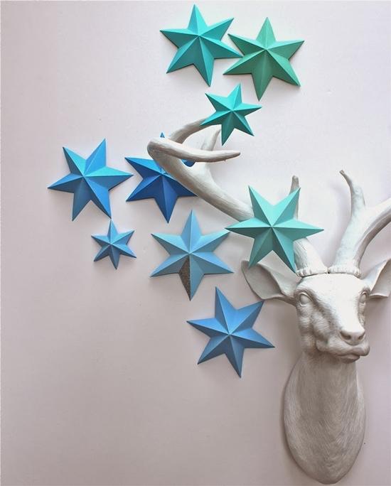 3d Paper Star 1 Wonderful DIY 3D Paper Lucky Star