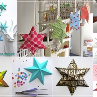 Wonderful DIY 3D Paper Lucky Star