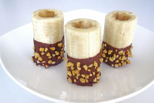 Banana Bites With Chocolate  4