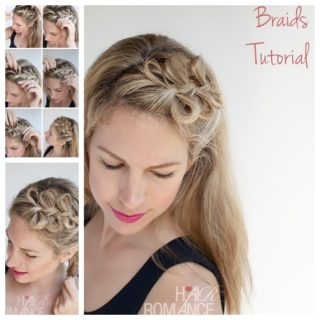 Wonderful DIY Pretty Bow Braids Hairstyle