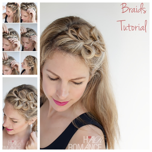 Bow braids hairstyle F Wonderful DIY Pretty Bow Braids Hairstyle