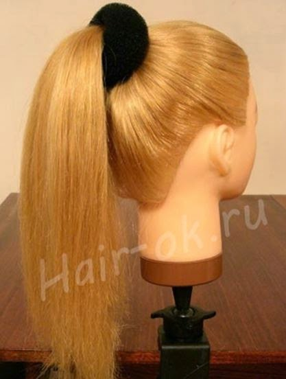 Braided rose Bow Hairstyle02