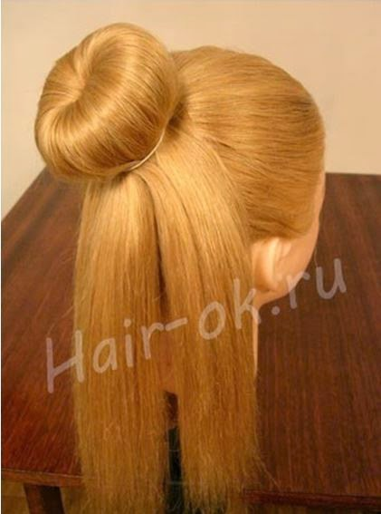Braided rose Bow Hairstyle03