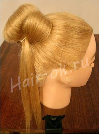 Braided rose Bow Hairstyle07
