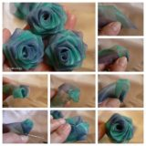 Wonderful DIY Beautiful Chiffon Ribbon Rosette
