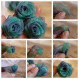 Wonderful DIY Beautiful Chiffon Ribbon Rosette