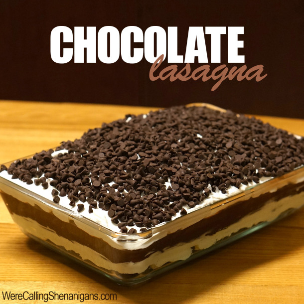 Chocolate Lasagna Cake 0 Wonderful DIY No Bake Chocolate Lasagna Cake
