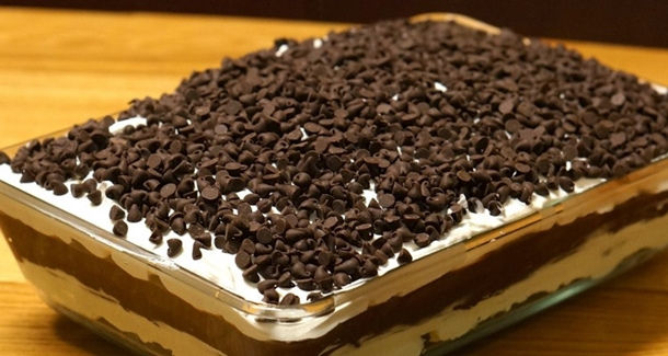 Chocolate Lasagna Cake 9-2