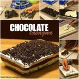 Wonderful DIY No Bake Chocolate Lasagna Cake