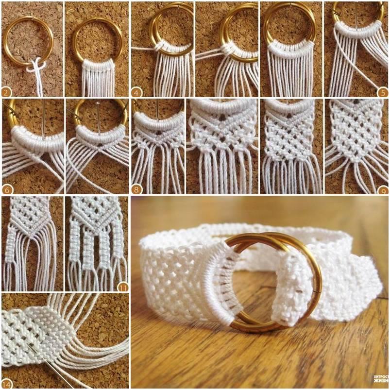 Cute And Elegant Cotton Macrame Bracelet