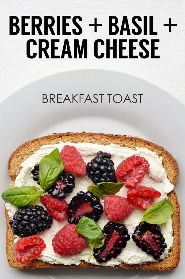 Creative Breakfast Toasts 20