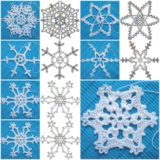 Wonderful DIY Crochet Snowflakes With Pattern