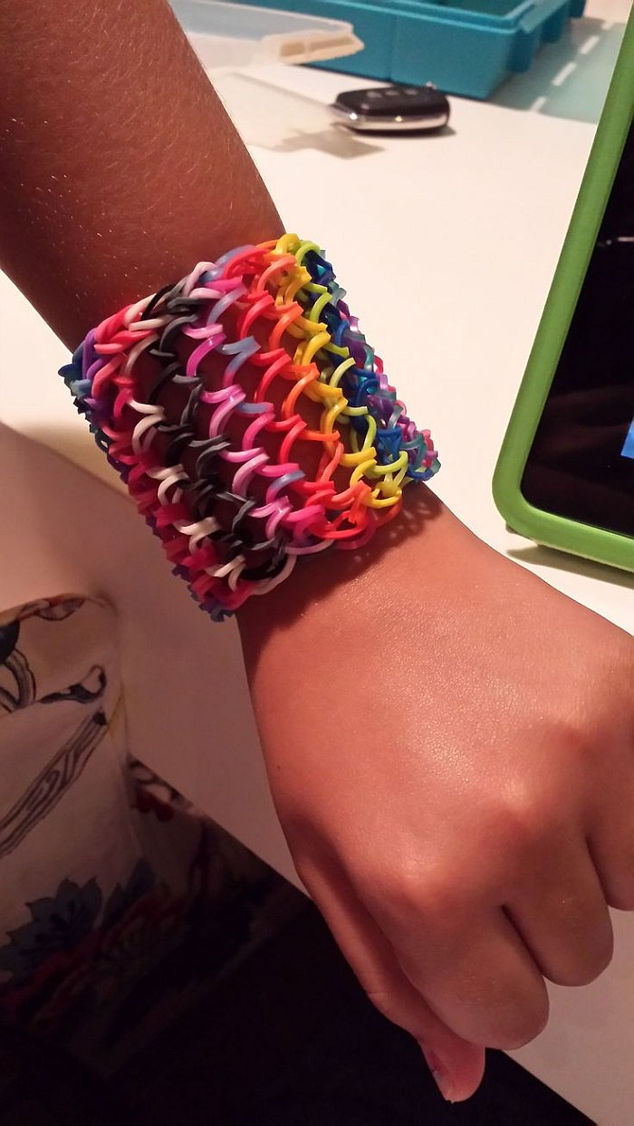DIY Dragon Scale Cuff Loom Bracelet DIY Dragon Scale Cuff Loom Bracelet   Free Video Guide