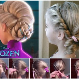 Wonderful DIY Disney  Frozen Coronation Hairstyle