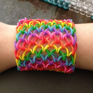 DIY Dragon Scale Cuff Loom Bracelet – Free Video Guide