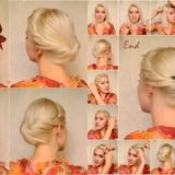 Wonderful DIY Elegant Updo For Medium Long Hair