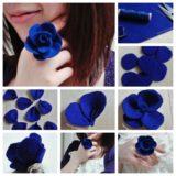Wonderful DIY Pretty Felt Rose Ring