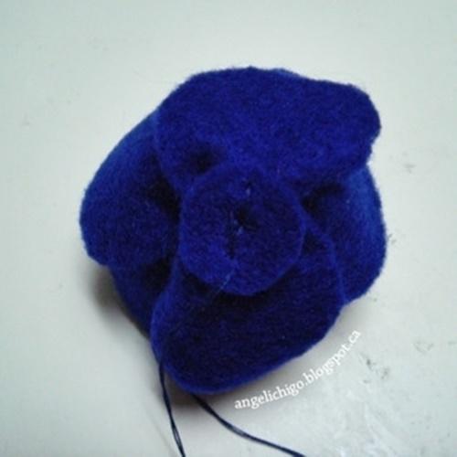 Felt Rose Ring9-2