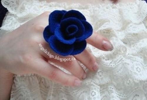 Felt Rose Ring9-4.
