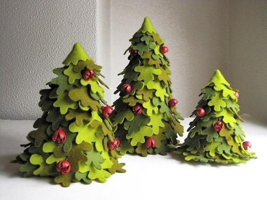 Handmade Felt Trees10