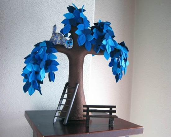 Handmade Felt Trees11