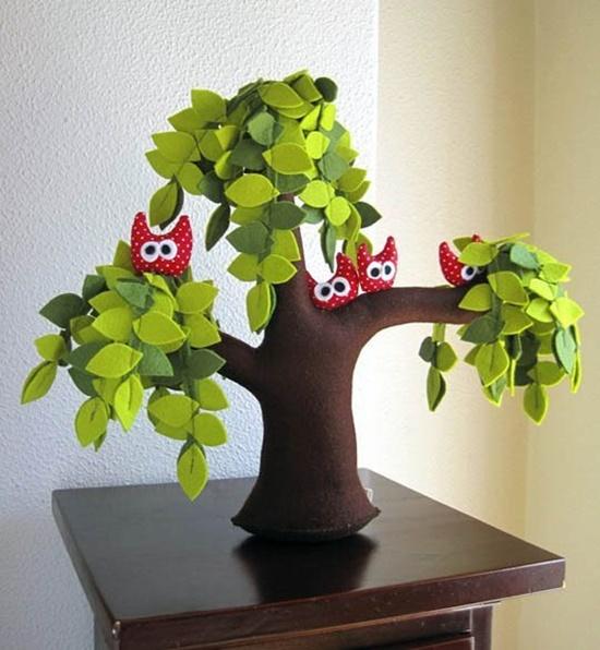 Handmade Felt Trees12