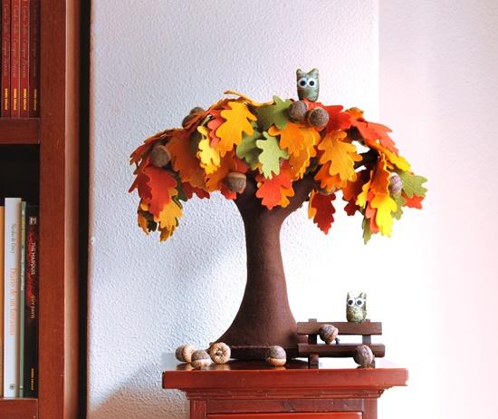 Handmade Felt Trees13