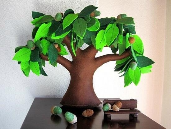 Handmade Felt Trees14