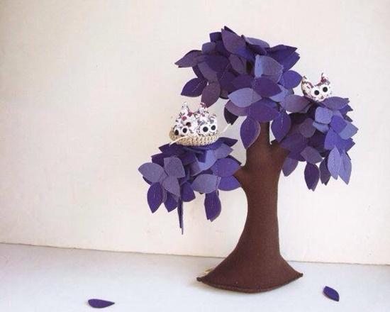 Handmade Felt Trees5