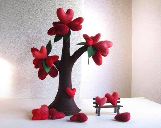 Handmade Felt Trees6