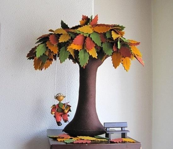 Handmade Felt Trees7