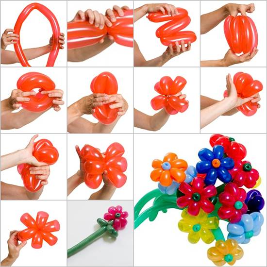 How to DIY Balloon Daisy Flowers Wonderful DIY Pretty Balloon Flowers For Party