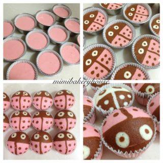 Wonderful DIY Steamed  Ladybug Cupcakes