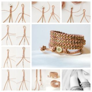 Wonderful DIY Fabulous Leather Wrap Bracelet
