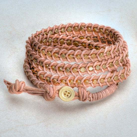 Leather Wrap Bracelet9-2